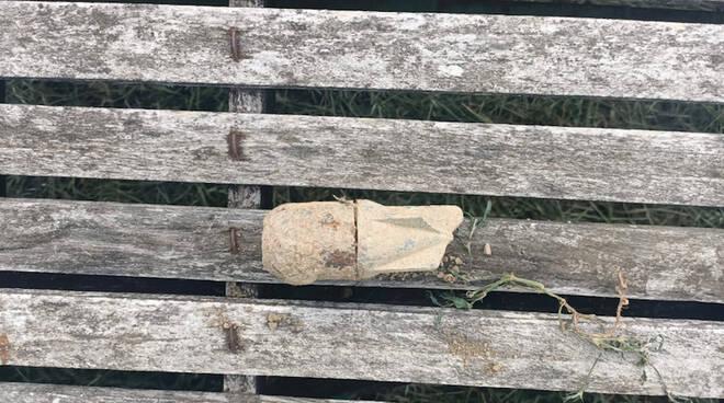 L'ordigno ritrovato a Piacenza