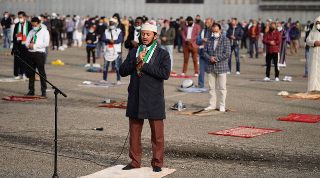 La cerimonia del Ramadan a Piacenza Expo