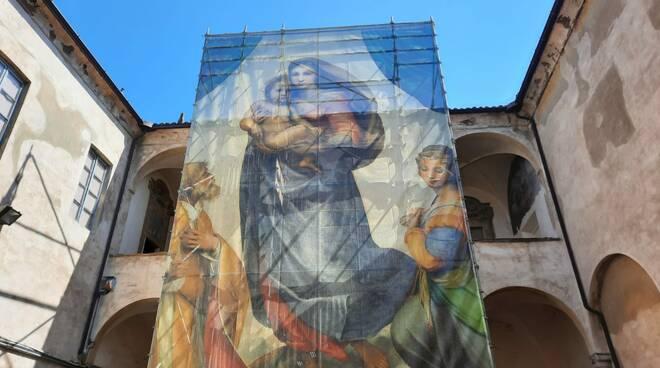 La Madonna Sistina torna a San Sisto