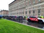 La partenza del Giro d'Italia