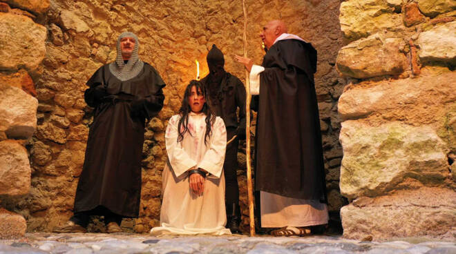 La strega di Baratti - riprese