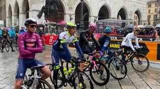 La tappa piacentina del Giro d'Italia