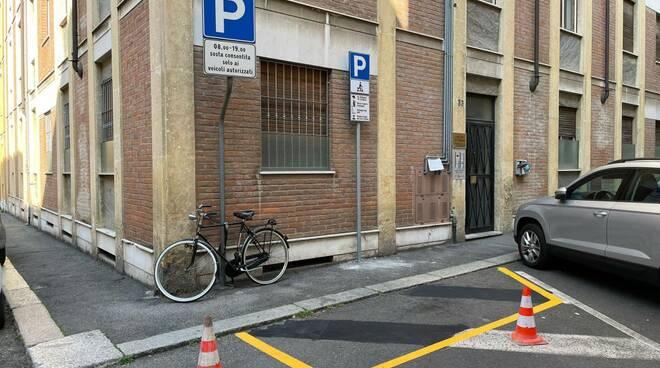 Parcheggi monopattini
