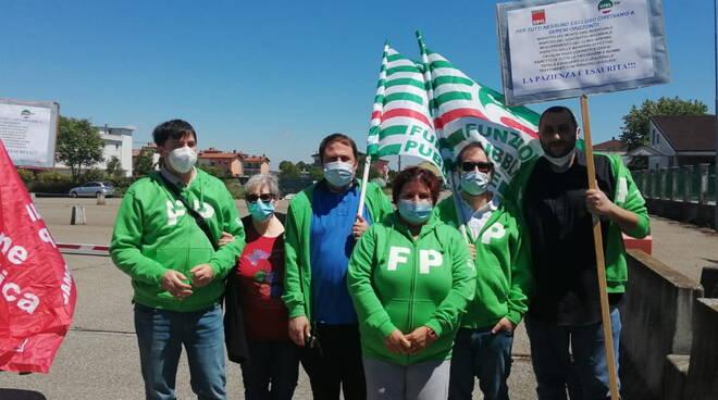 presidio sindacati Sereni Orizzonti