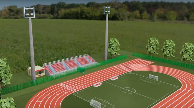 Progetto riqualificazione strutture sportive Fiorenzuola