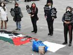 Sit in Palestina Donne in Nero
