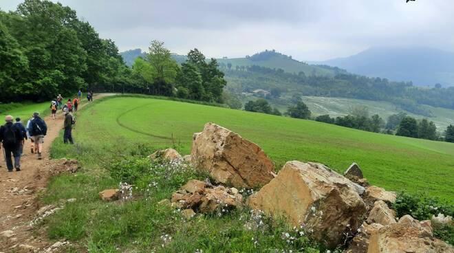 Val Tidone lentamente escursione