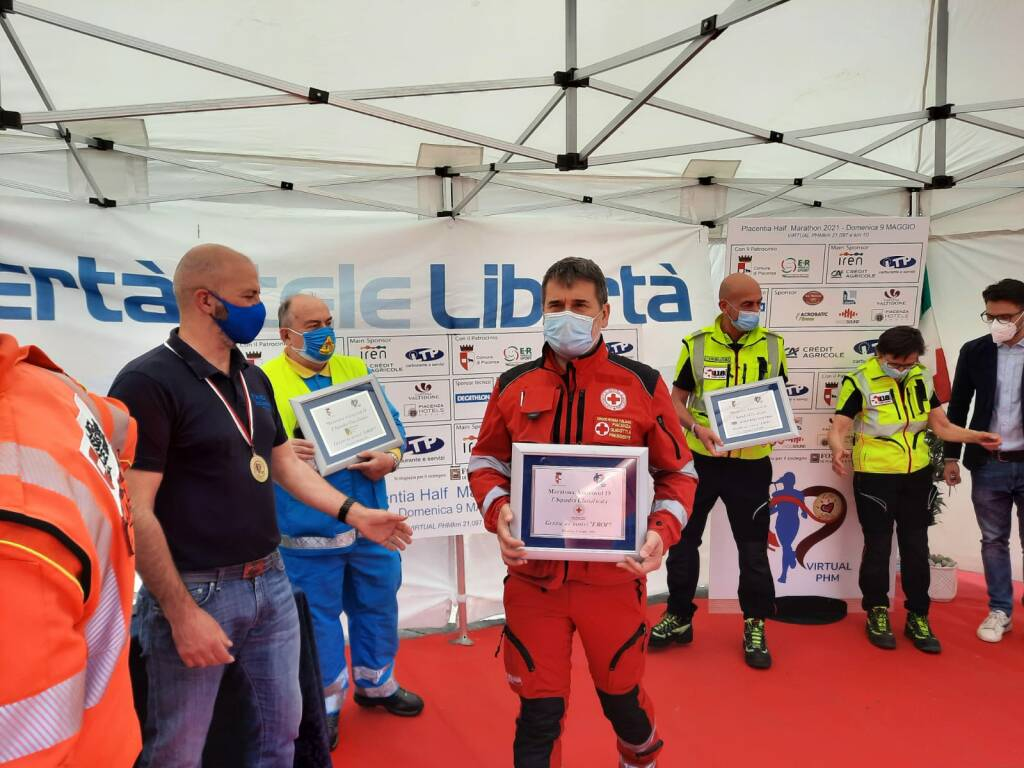 Virtual Half Marathon - Piazza Cavalli
