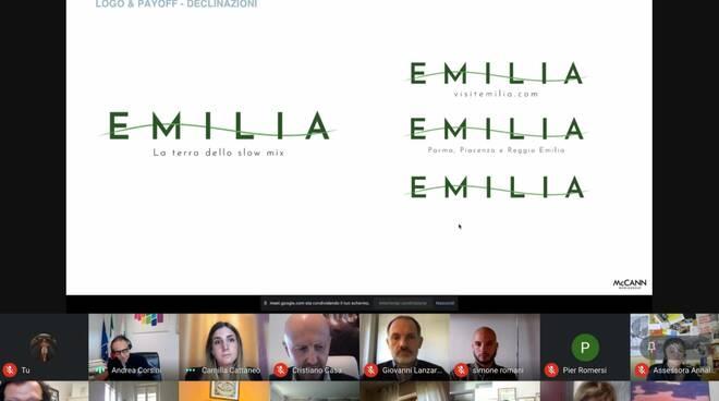 Visit Emilia logo