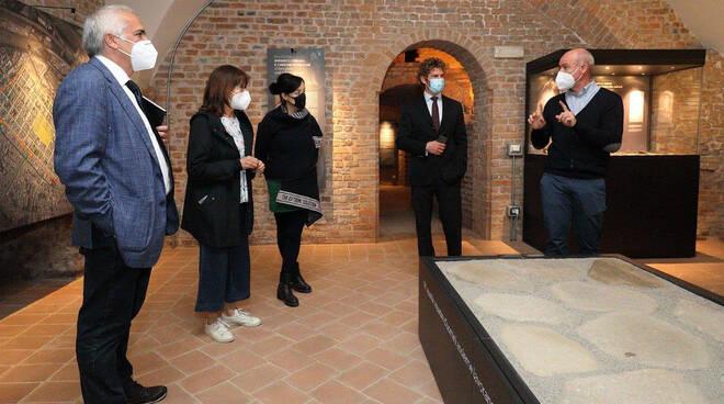 Visita soprintendente a Palazzo Farnese