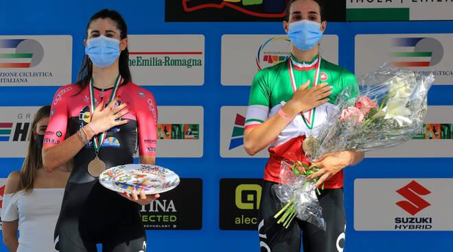 Barale e Cipressi sul podio (foto di Flaviano Ossola)