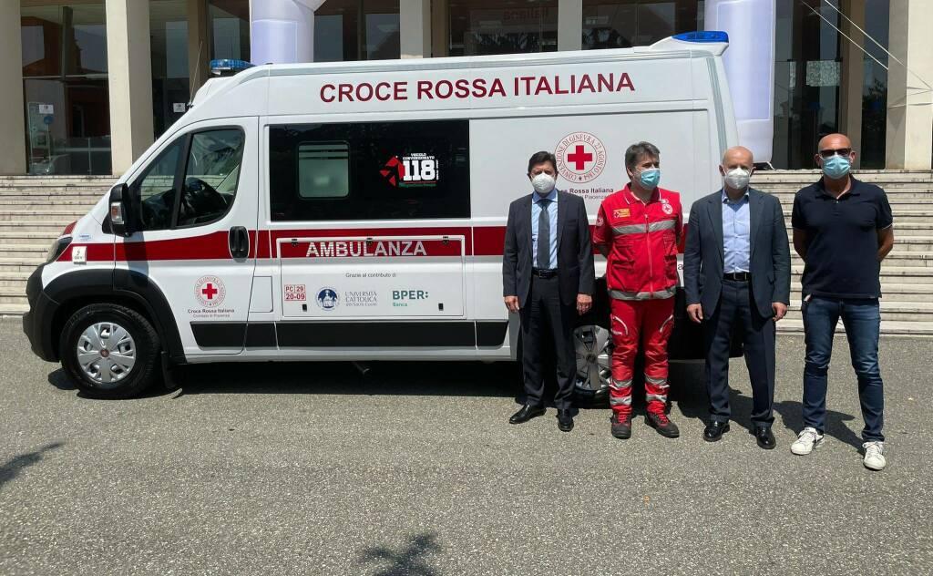 Consegna nuova ambulanza Croce Rossa
