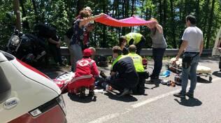 incidente motociclisti
