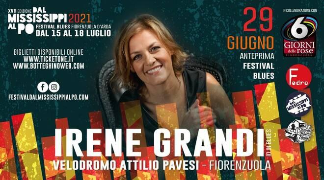 Irene Grandi concerto