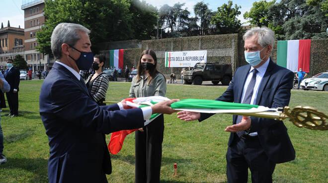 La Festa della Repubblica celebrata in Piazza Cittadella