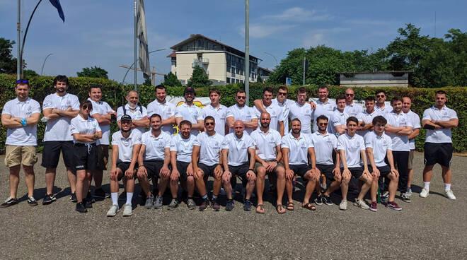 La formazione cadetta Sitav Rugby Lyons (ph Angela Petrarelli)