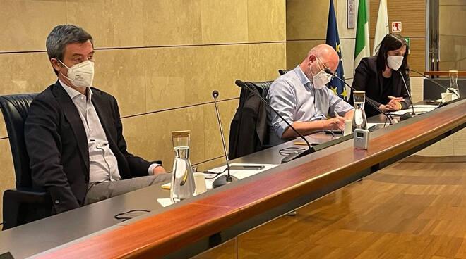 La riunione in Regione con il ministro Orlando
