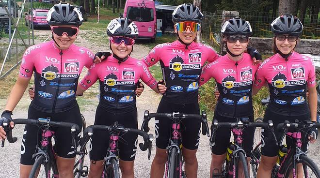 Le Esordienti del Ciclismo VO2 Team Pink