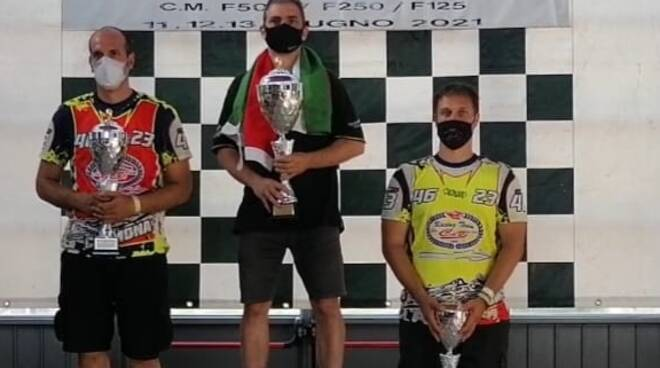 Motonautica - podio della F250 di Borreto Po