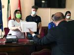 Premiazione contest vetrine giro d'Italia
