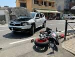 Scontro auto moto a Gragnano