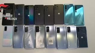 smartphone rubati