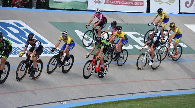 Velodromo pista ciclismo