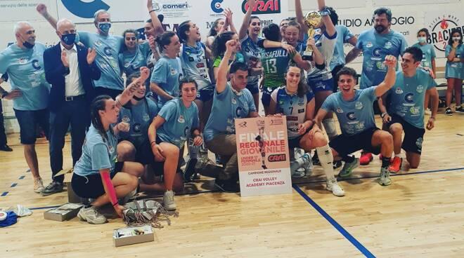 Volley Academy under 17 campione