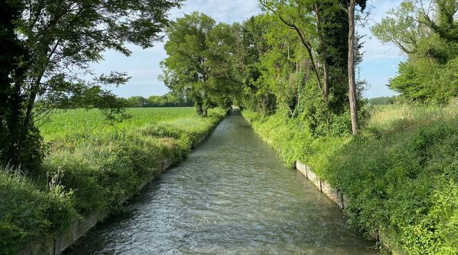Canale irriguo Gossolengo