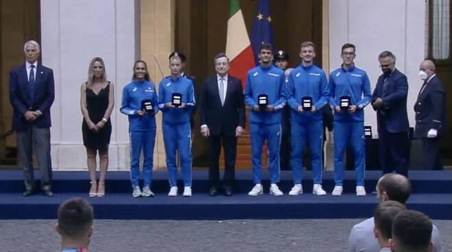 Dallavalle cerimonia premier Draghi
