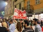 Festa azzurra in centro a Piacenza