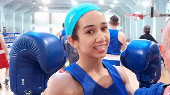 Hasna Bouyij boxe
