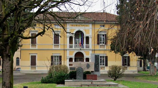 Il Municipio di Monticelli