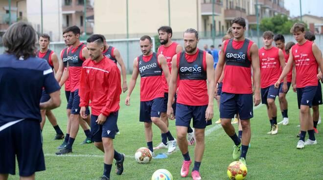 Piacenza Calcio allenamento