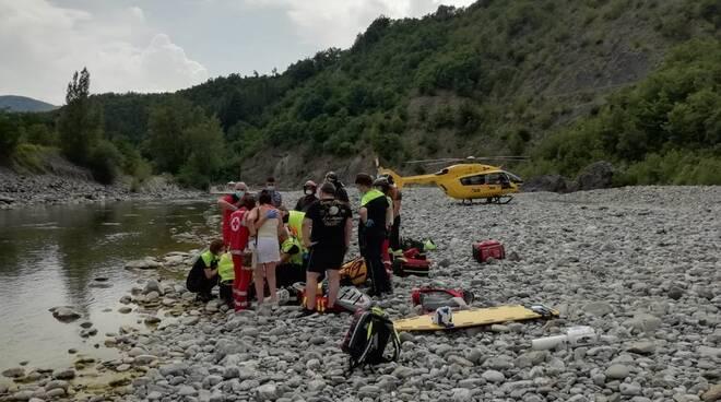 soccorsi 118 in Trebbia