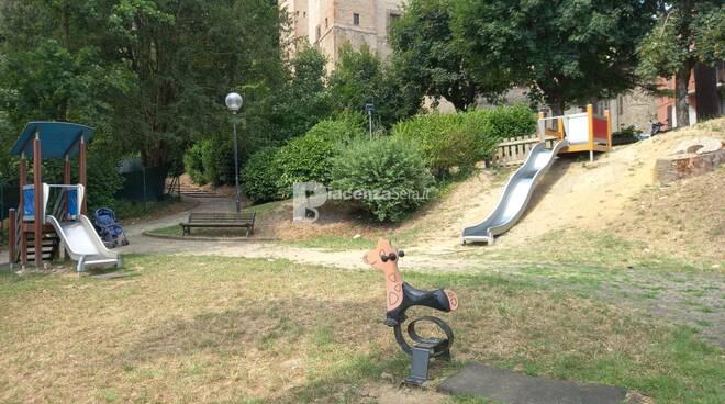 Stato parco giochi Castell\'Arquato
