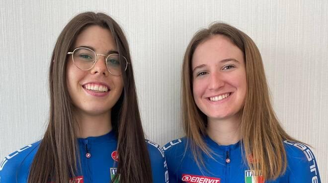 Carlotta Cipressi e Silvia Bortolotti (VO2 Team Pink)