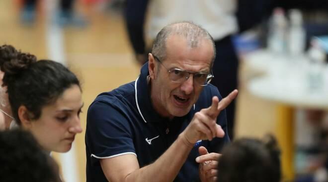 Coach Andrea Codeluppi (foto di Ufficio stampa Miovolley e Properzi Lodi)