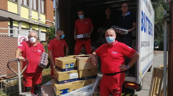 Croce Rossa logistica