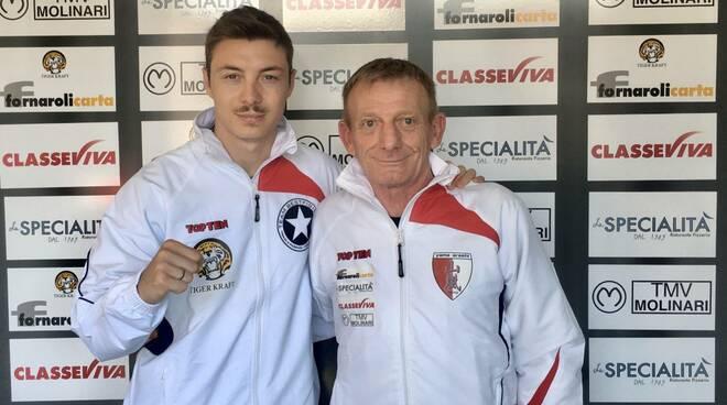 Davide Colla con Gianfranco Rizzi (Yama Arashi)
