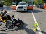 incidente hand bike