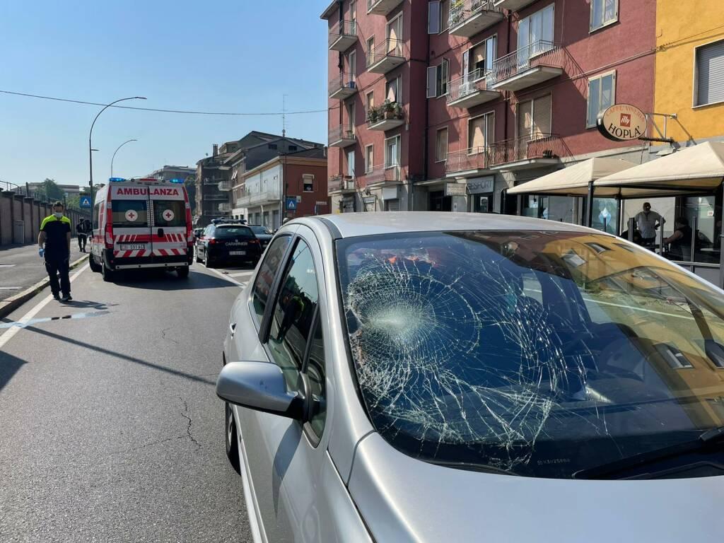 Incidente via XXIV maggio ciclista investita