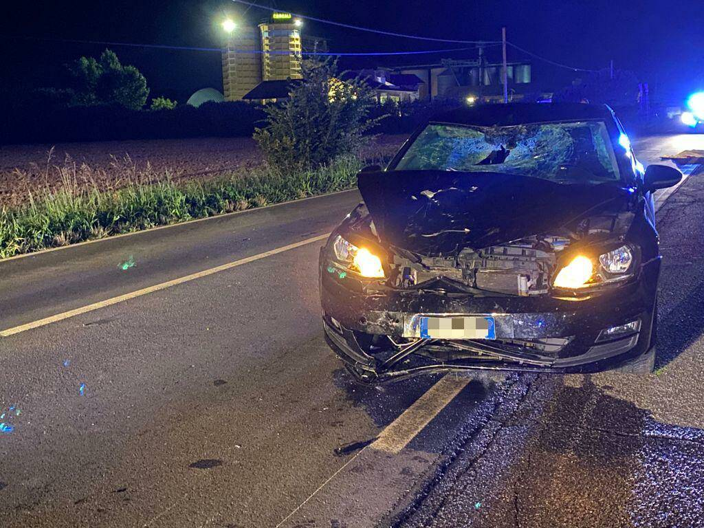 incidente Zena auto