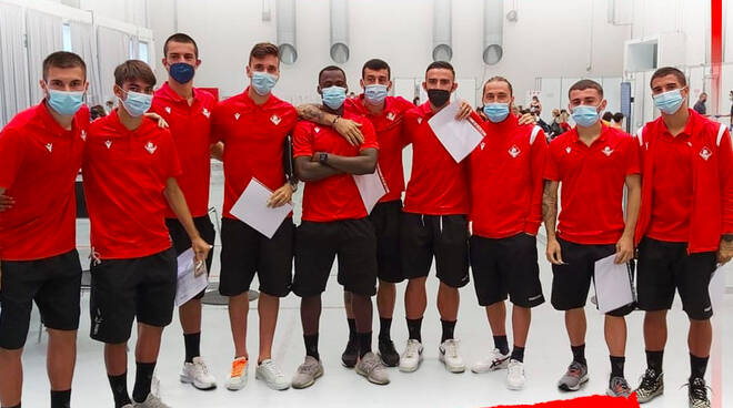 Piacenza Calcio vaccinazione