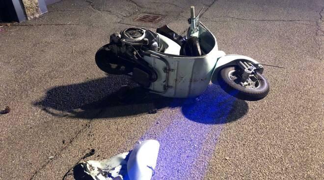 scooter Zena incidente