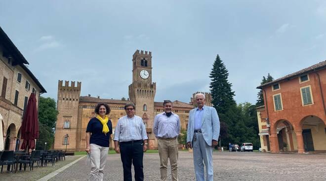 Silvia Lanzi, Davide Bellotti, Maurizio Pavesi, Orazio Zanardi Landi