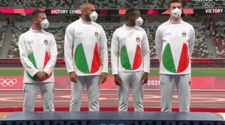 Staffetta 4x100 Olimpiadi