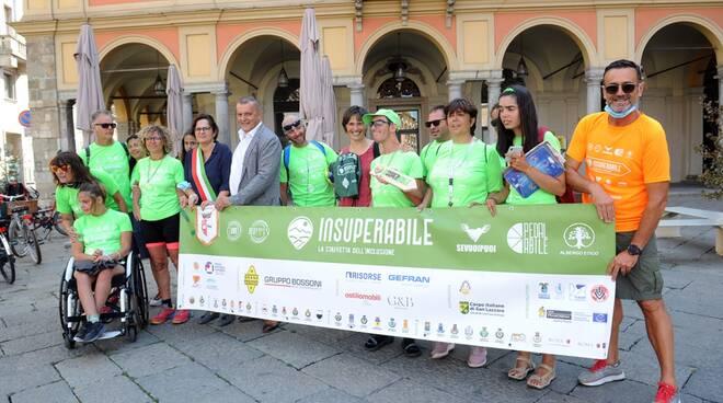 """Staffetta """"Insuperabile"""" a Piacenza (foto Del Papa)"""