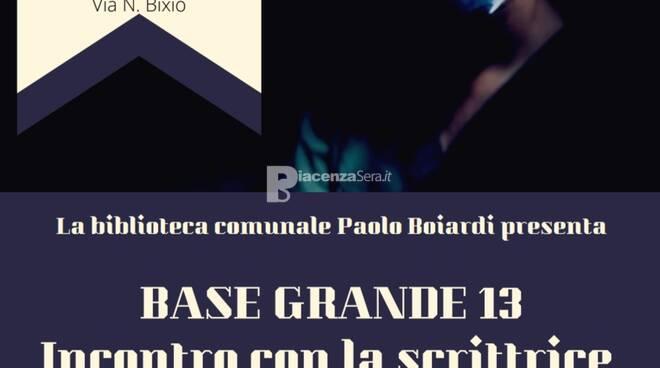 """Presentazione del romanzo \""""Base Grande 13\"""" di Paola Chimisso"""