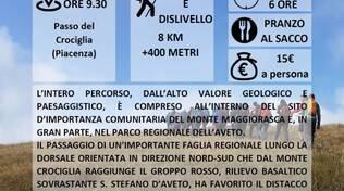SCOPRI LE COLLINE PIACENTINE: La Ciapa Liscia e la Valle  Tribolata